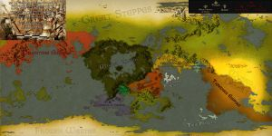 The World during the Imperial Year 2042 -WIP- by PiemasterXL