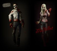 _zombies need lovin too by karincoma