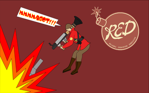 TF2 - RED Soldier by Damr1990