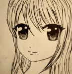 Simple Anime Sketch by L-Larts