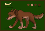Lexis(?) (Dingo design for Silvixen) by iFoxSpirit