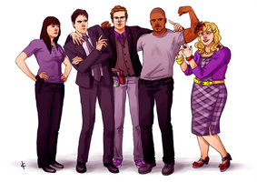 Criminal Minds FanArt: Happy Days by NinaKask