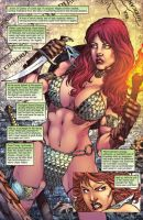 Red Sonja #75 pag 01 by MARCIOABREU7