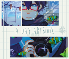 A Day Artbook Preview by AmaiCandy