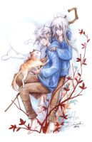 Bday gift - Rise of the Guardians by eikomakimachi