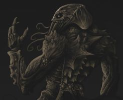 Cthulhu WIP2 by Cariman
