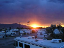 RV Sunset by BonnieLime