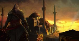 Assassins Creed Revelation Hagia Sophia by Kalberoos
