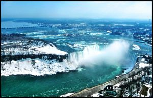 Niagara falls Winter by kate-art
