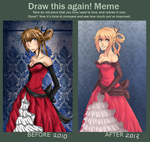 Draw this again Meme by Little-Miss-Boxie