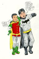 Batman and Robin by rakefet666