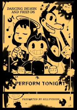 Bendy and the ink Machine contest  by Toreshi