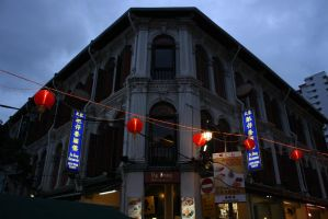 One Restaurant in China Town by ren241295