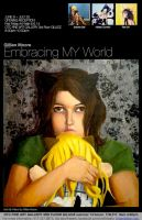 Embracing My World- poster by KittyRei