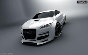 Audi TTX Widebody by TheSaladMan
