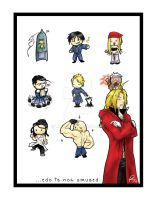 AN07 - FMA Chibis by tiikay