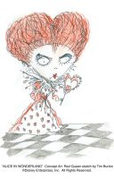 The Red Queen by AliceInWonderland