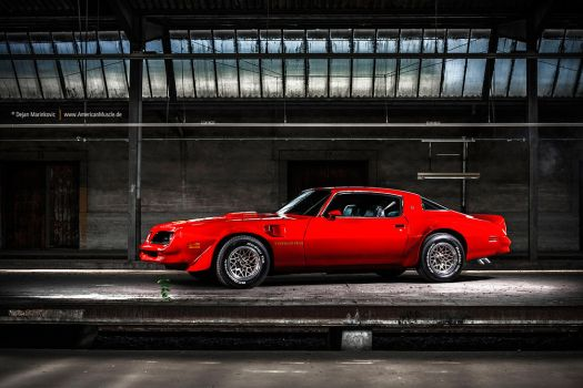 Red 1978  Trans Am by AmericanMuscle