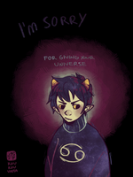 But 'Sorry' Won't Change a Thing by Koukouvayia