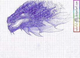 _Dragon_sketch by Colorful-Gray