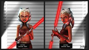 Mugshot - Ahsoka by The-JoeBlack