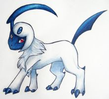 AT- Absol by HollieBollie