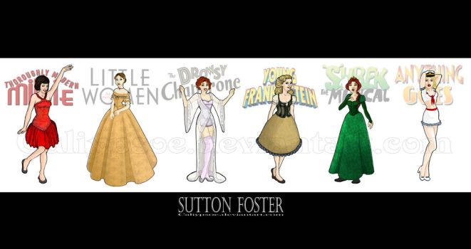 Sutton Foster Complete by Caliypsoe