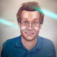 John Green by rezzmarr