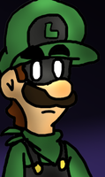 mr luigi by JONATELLODRAWER