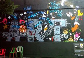 Art Wall by Laetishaa
