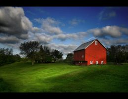 The red barn by BillyRWebb