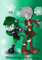 Blade and Bolt .:SPEEDPAINT:. by riicebunnii