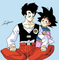 Gohan and Goten by FoReal100