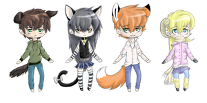 Kemonomimi Point Adopts- CLOSED by Wiggans-Adopts