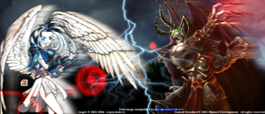Angel vs Demon by RBL-M1A2Tanker
