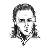 Loki sketch by Dreambeing