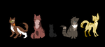 Tigerstar kits by prussiawashere999