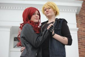 The Mortal Instruments: JaceWayland and Clary Fray by SabinaRose5