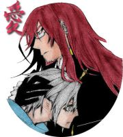 DGM - Cross gave Allen a hug by lealin