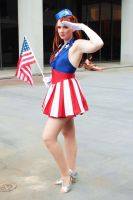 Captain America USO Salute by BenaeQuee