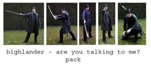 highlander talking to me pack by syccas-stock