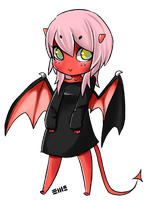 Demon Chibi by Mango-Star