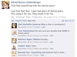 Hetalia Facebook: The Song of Alfred by gilxoz-epicness
