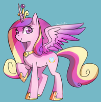 Princess Cadance by ChocoChaoFun