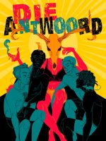 DIE ANTWOORD gig poster by bANANA-jAM