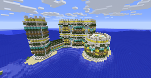 Oceanview Castle 2 by ValentineCraft