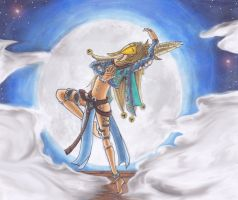 Dancer of the moon by Dreamy-Moon07