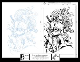 Ink Test Red Monika Joe Madureira Combined by Docolomansky