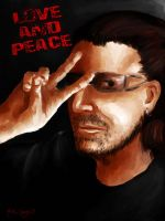 LOVE AND PEACE or else by Savay