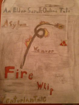 Asylum Weaver Fire Whip by Shadowsans2